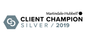 Martindale Hubbell | Client Champion | Silver 2019