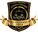 NAOPLA Top Ten Attorney 2014