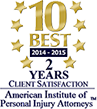 10 Best 2014-2015 | 2 years Client satisfaction